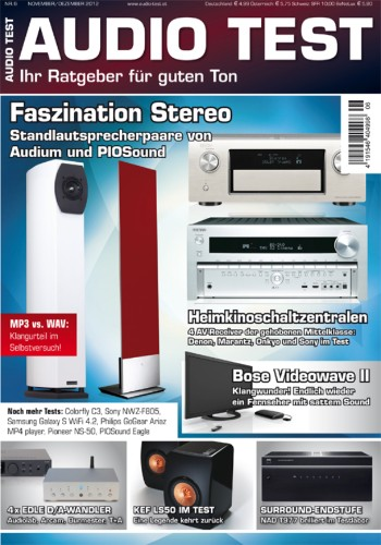Schnupperabo AUDIO TEST Magazin