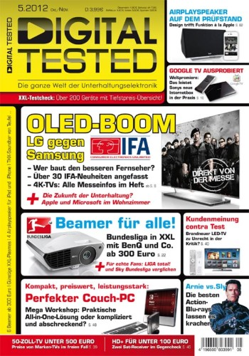 Schnupperabo DIGITAL TESTED Magazin